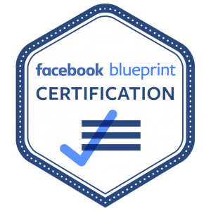 Facebook blueprint certification badge