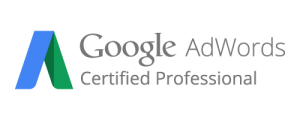 Google Adwords certified professional logo